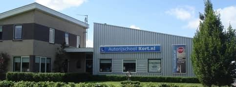 Gebouw Autorijschool R. Kort